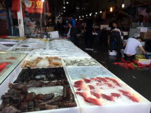 Zhenru fish market