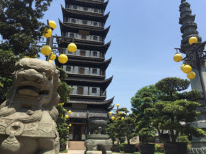Zhenru Temple pagoda