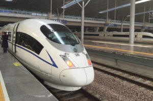 China high speed trains are great way to travel