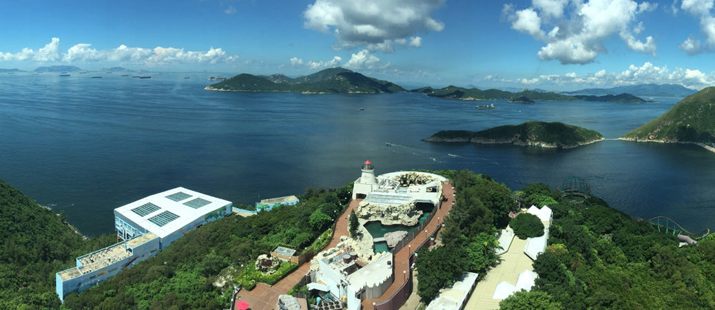 Hong Kong Ocean Park pano