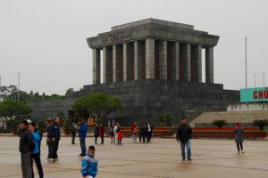 Ho Chi Minh mausoleum was pretty cool