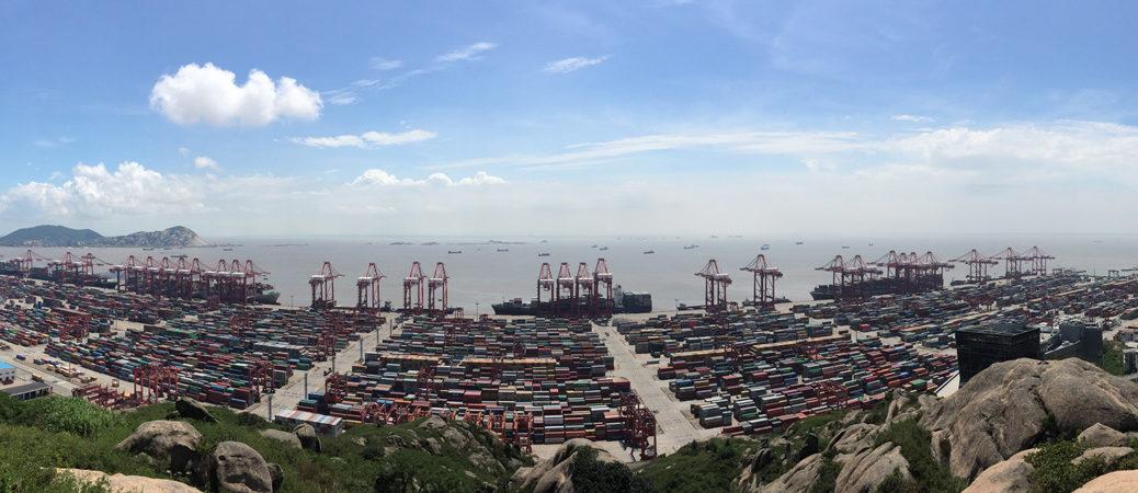 Yangshan Port pano