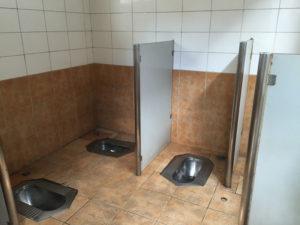 Public bathroom in Beijing