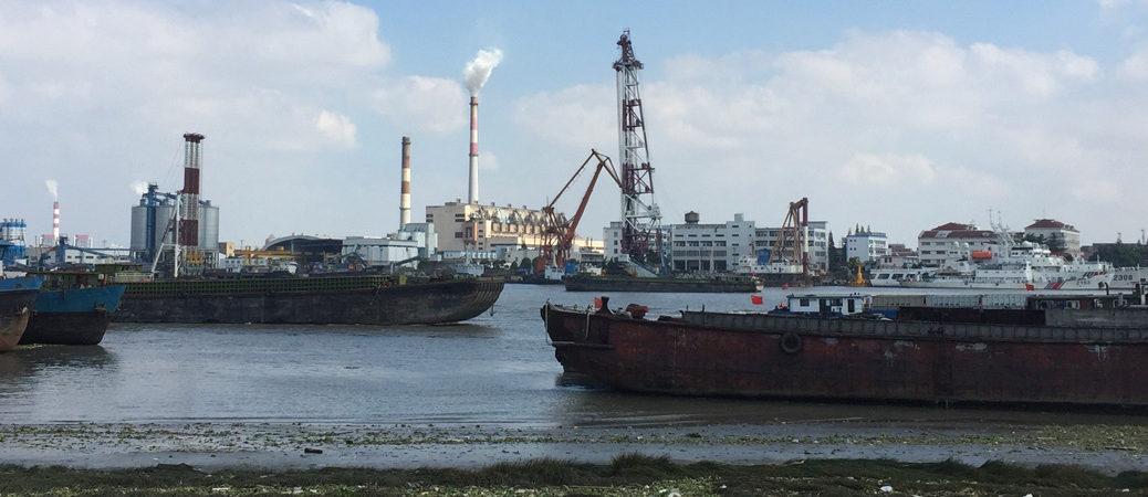 Huangpu river pano
