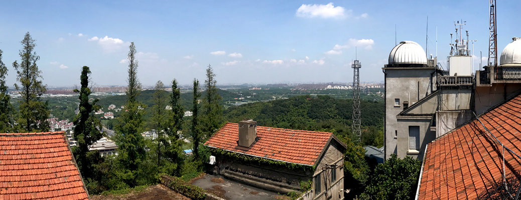 Sheshan observatory rooftop pano