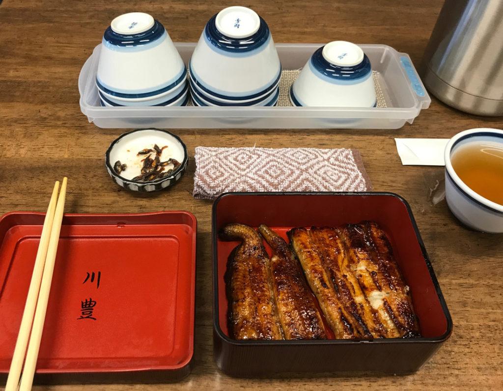 Kawatoyo Honten restaurant, Narita