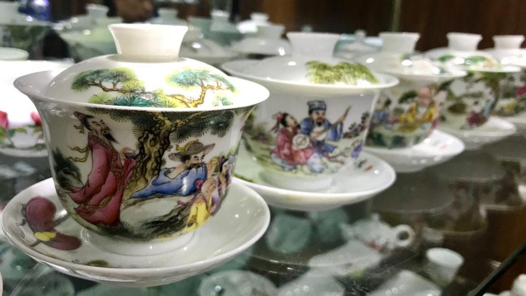 Handmade teawares