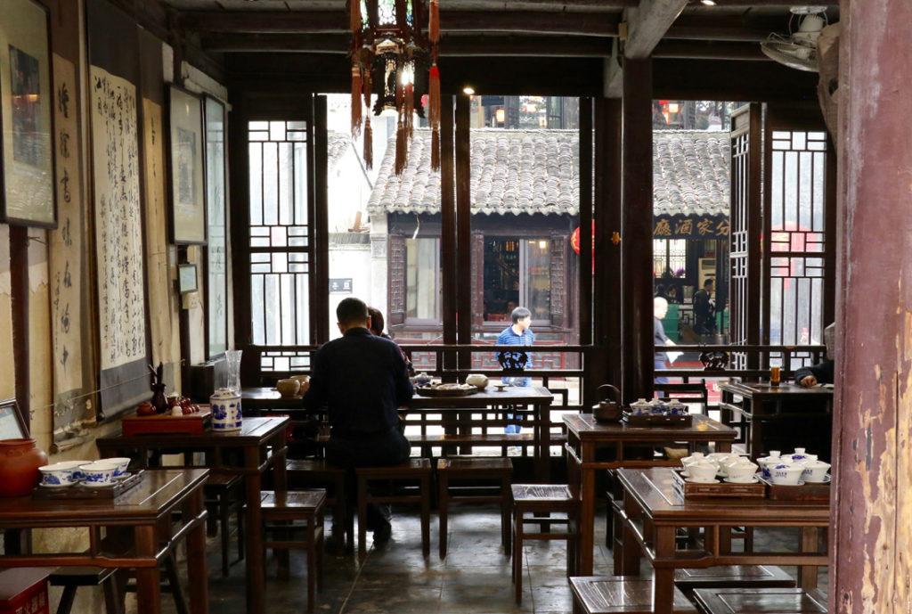 Canal tea shop