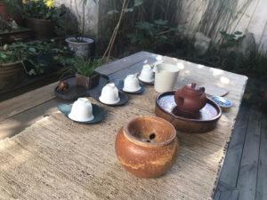 Tea patio