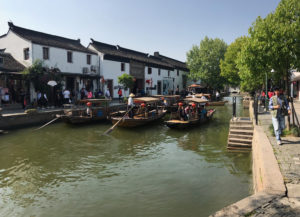 Zhujiajiao sight seeing boats